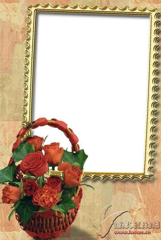 玫瑰,心形,鲜花等漂亮边框集合下载